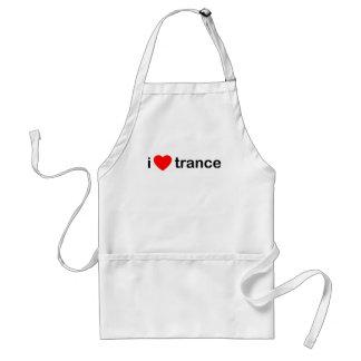 Amo trance delantal