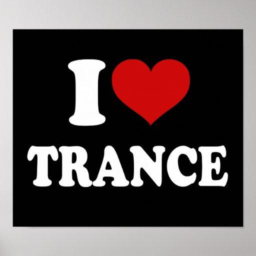 Amo trance impresiones