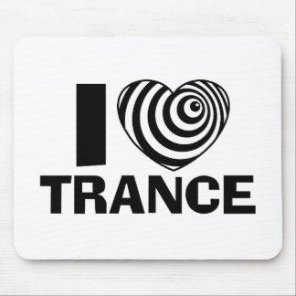 Amo trance tapete de ratón