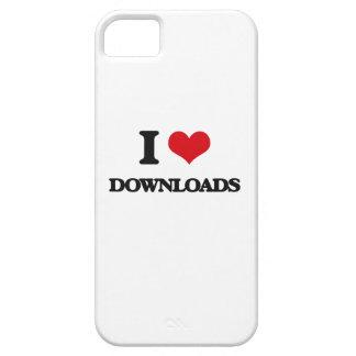 Amo transferencias directas iPhone 5 funda