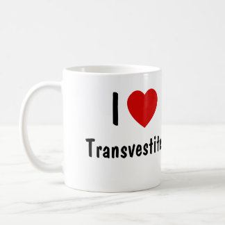 Amo Tranvestites Taza Clásica