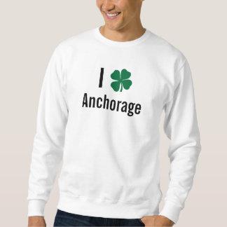 Amo (trébol) día del St Patricks de Anchorage Jersey