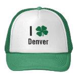 Amo (trébol) día del St Patricks de Denver Gorro