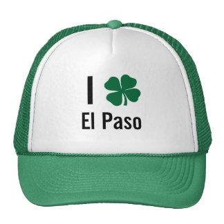 Amo (trébol) día del St Patricks de El Paso Gorras De Camionero