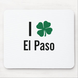 Amo (trébol) día del St Patricks de El Paso Tapete De Ratones