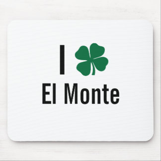 Amo (trébol) día del St Patricks del EL Monte Mousepad