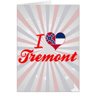Amo Tremont, Mississippi Tarjetas
