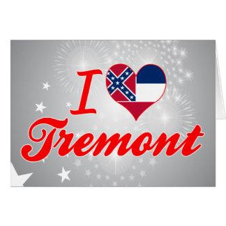 Amo Tremont, Mississippi Tarjeton