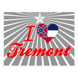 Amo Tremont, Mississippi Postales