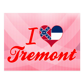Amo Tremont, Mississippi Tarjeta Postal