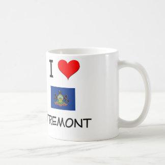 Amo Tremont Pennsylvania Taza Básica Blanca