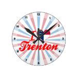 Amo Trenton, Carolina del Norte Reloj