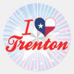 Amo Trenton, Tejas Etiqueta Redonda