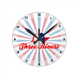 Amo tres ríos, Tejas Reloj