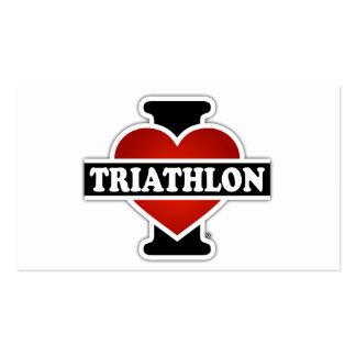 Amo Triathlon Tarjetas De Visita