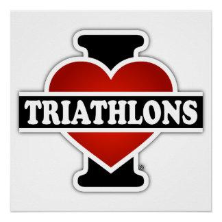 Amo Triathlons Perfect Poster