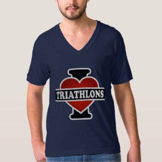 Amo Triathlons Playeras