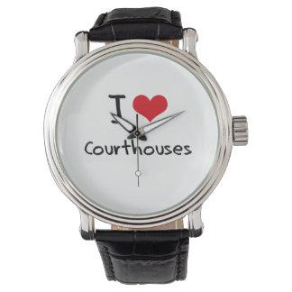 Amo tribunales reloj