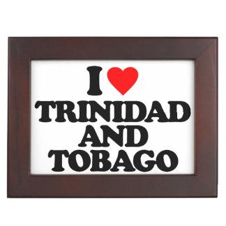 AMO TRINIDAD AND TOBAGO CAJAS DE RECUERDOS