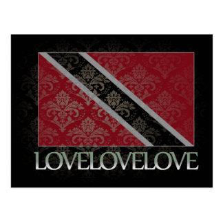 Amo Trinidad and Tobago frescos Postales