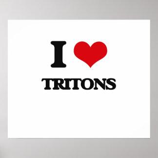 Amo tritones póster