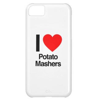 amo trituradoras de la patata funda para iPhone 5C