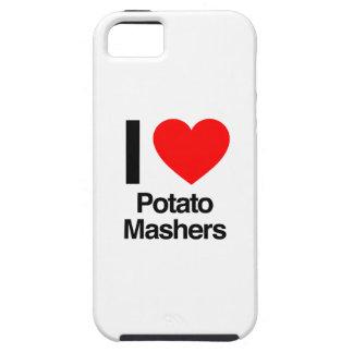 amo trituradoras de la patata iPhone 5 fundas