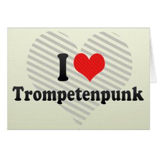 Amo Trompetenpunk Tarjeta