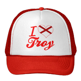Amo Troy, Alabama Gorro De Camionero