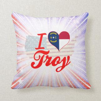 Amo Troy, Carolina del Norte Almohada