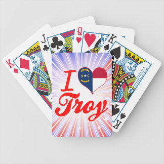 Amo Troy, Carolina del Norte Baraja