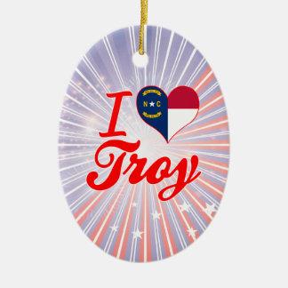 Amo Troy, Carolina del Norte Ornamentos Para Reyes Magos