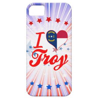 Amo Troy, Carolina del Norte iPhone 5 Protectores