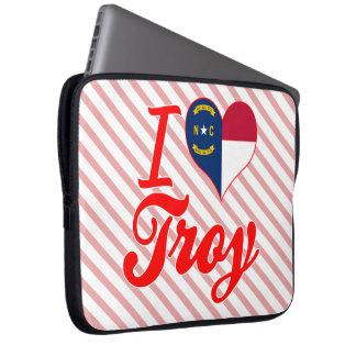 Amo Troy, Carolina del Norte Manga Portátil