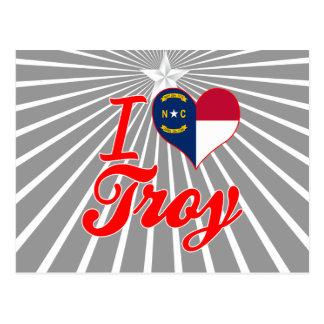 Amo Troy, Carolina del Norte Postal
