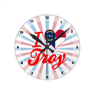 Amo Troy, Carolina del Norte Relojes