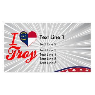 Amo Troy, Carolina del Norte Tarjetas De Visita