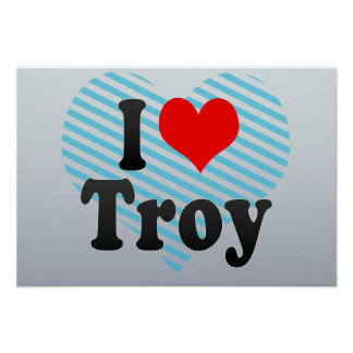 Amo Troy, Estados Unidos Póster