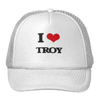 Amo Troy Gorros Bordados