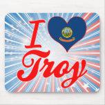 Amo Troy, Idaho Alfombrillas De Ratones