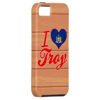 Amo Troy, Nueva York iPhone 5 Case-Mate Cárcasa