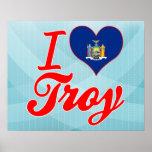 Amo Troy, Nueva York Poster