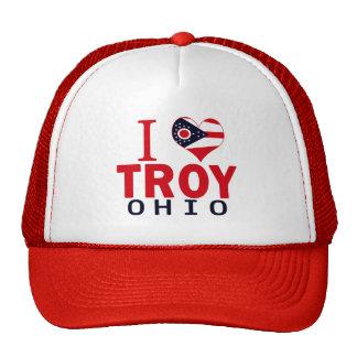 Amo Troy, Ohio Gorro De Camionero