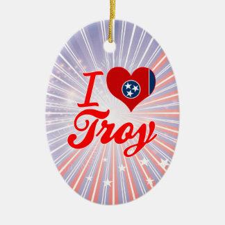 Amo Troy, Tennessee Adorno Ovalado De Cerámica
