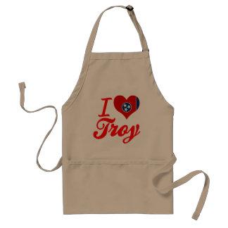 Amo Troy, Tennessee Delantal