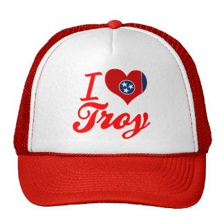Amo Troy, Tennessee Gorros Bordados