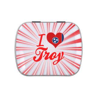 Amo Troy, Tennessee Jarrones De Caramelos