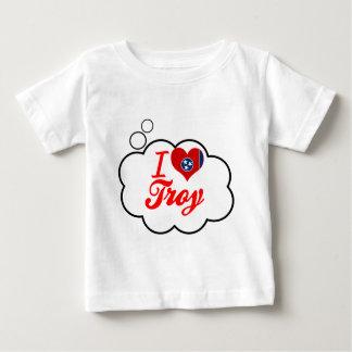 Amo Troy, Tennessee Camisetas