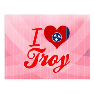 Amo Troy, Tennessee Tarjetas Postales