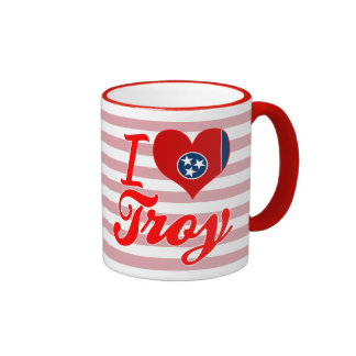 Amo Troy, Tennessee Taza A Dos Colores